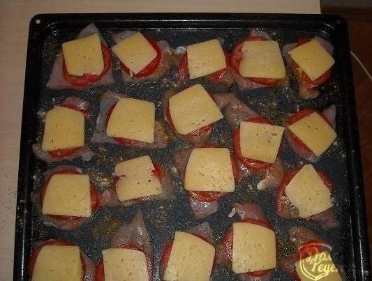 Рецепты куриное филе сыр