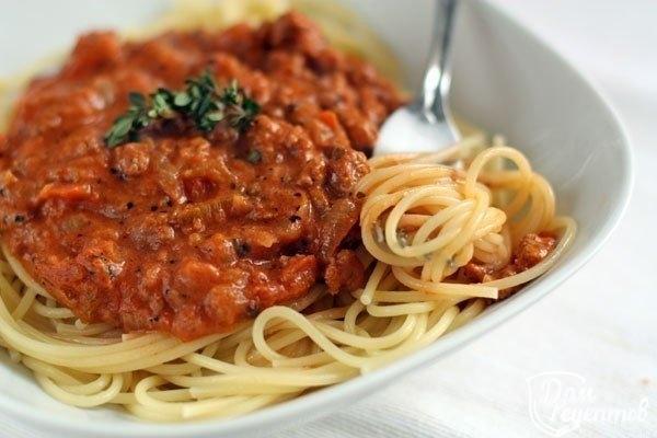 Со спагеттиы с фото