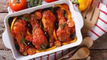 Томатный маринад для курицы