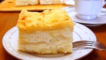 Пирог из лаваша с творогом сулугуни