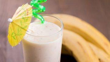 Бананово-молочный смузи